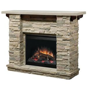 Dimplex Flat-Wall Fireplaces Featherston Electric Fireplace