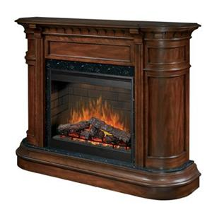 Dimplex Flat-Wall Fireplaces Carlyle Electric Fireplace
