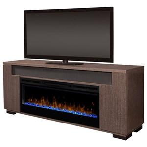Fireplace Media Console
