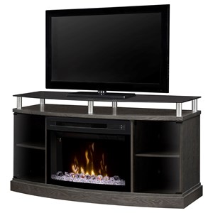 Windham Media Console w/ Electric Fireplace