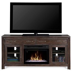 Woolbrook Media Console w/ Fireplace