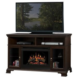 Brookings Media Console Fireplace