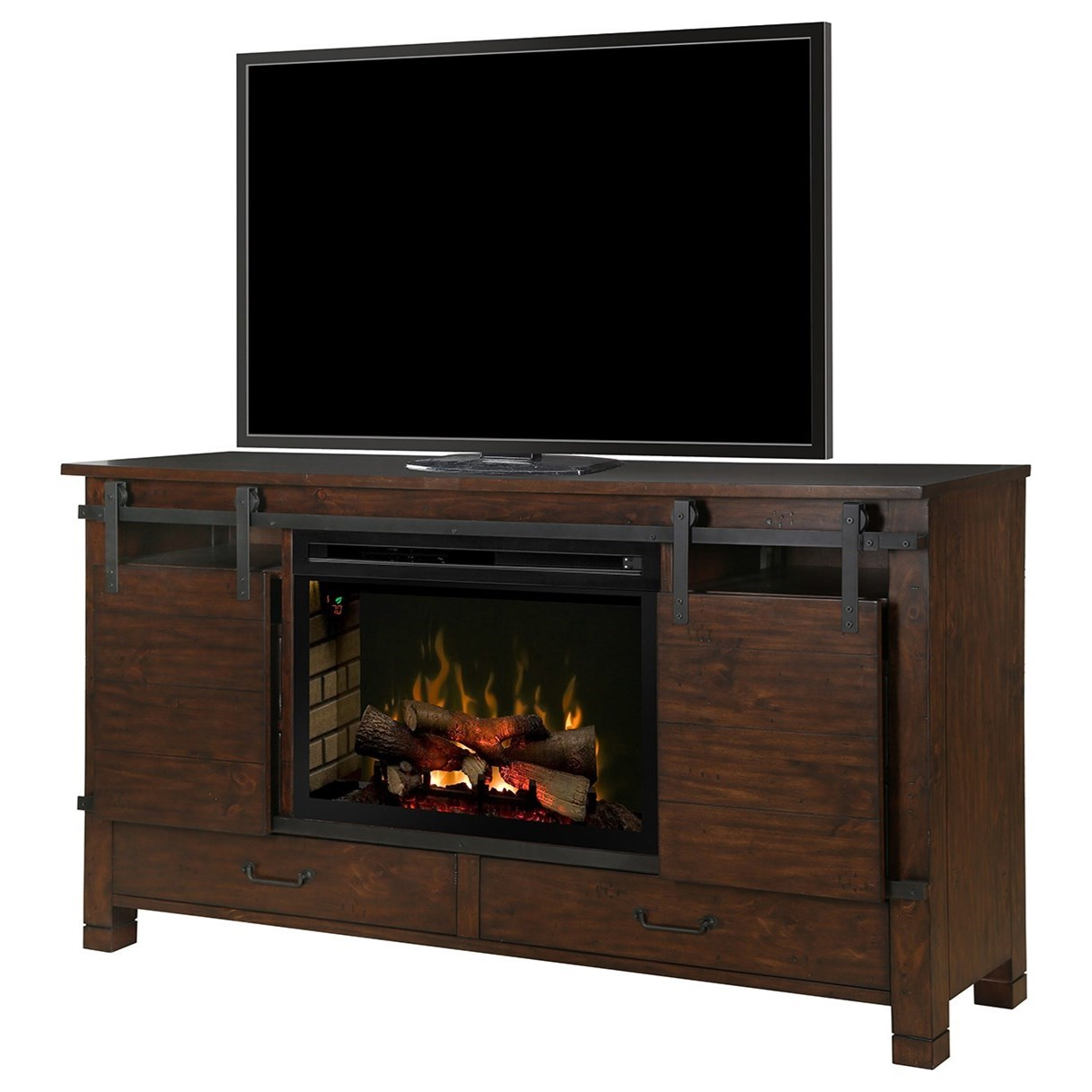 Dimplex Media Console Fireplaces Gds33ld 1670hb Austin Media Mantel Fireplace Becker Furniture