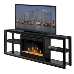 Dimplex Novara Media Mantel with Firebox