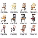Dinec Esquizito Upholstered Side Chair - Choose your favorite chair (click to view all options)