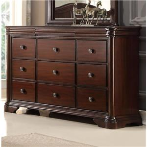 Miskelly Furniture Private Label Collection B161 Dresser