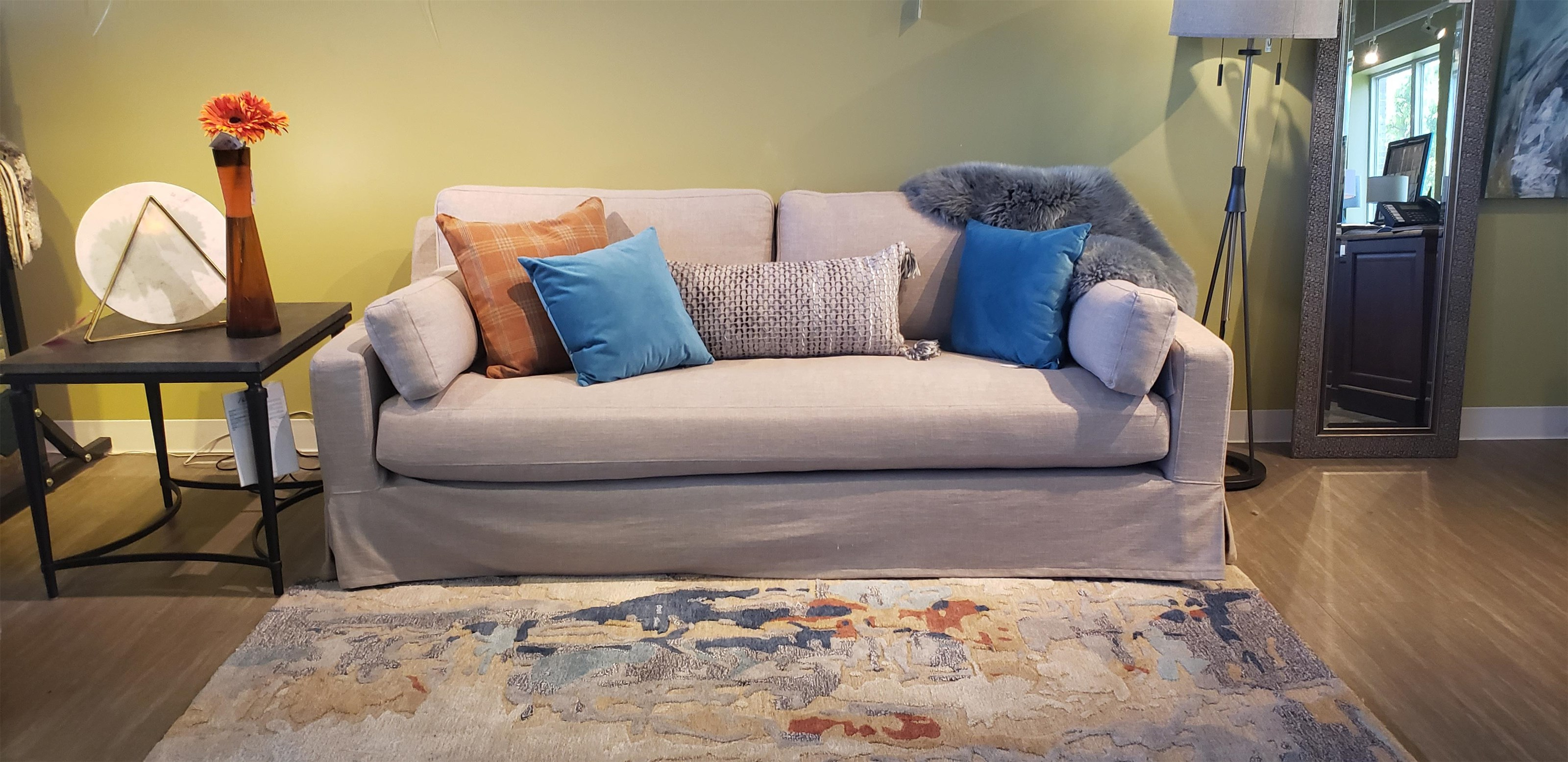 Stacy Slipcover Sofa at Bennett's Furniture and Mattresses