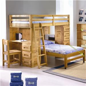 Discovery World Furniture Explorer Student Loft Bed
