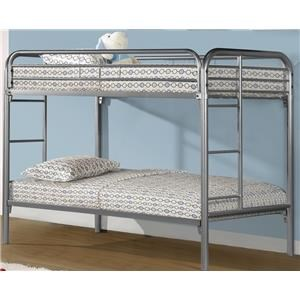 Dennis Twin Bunk Bed