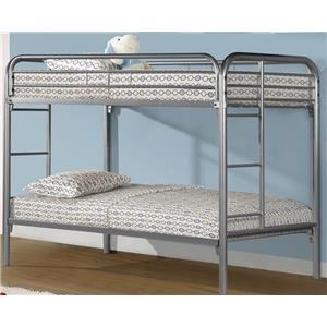 Donco Trading Co Dennis Dennis Bunk Bed