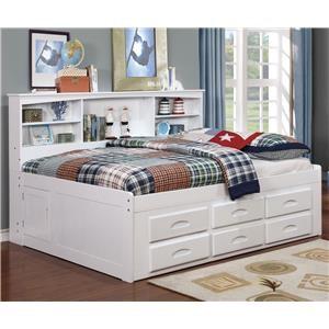 Donco Trading Co Graton Graton Full Storage Bed