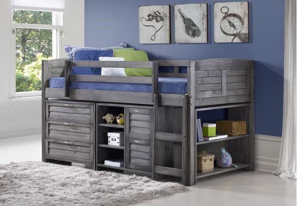 Holden Twin Loft Bed Package