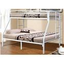 Donco Trading Co Markie Markie Twin/Full Bunkbed - Item Number: 692225778