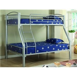 Donco Trading Co Norden Norden Twin/Full Bunk Bed