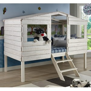 Donco Trading Co Honeydew Honeydew Twin Tree House Bed