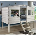 Donco Trading Co Honeydew Honeydew Twin Tree House Bed - Item Number: 1380-TLRS