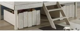 Honeydew Honeydew Set of 2 Loft Drawers by Donco Trading Co at Morris Home
