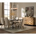 Donny Osmond Home Florence Upholstered Beige Dining Chair