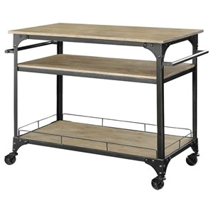 Donny Osmond Home Home Accents Kitchen Cart