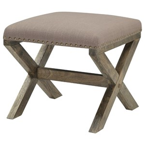Donny Osmond Home Home Accents Ottoman