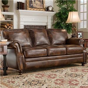D'Oro Sagle Classic Saddle Sofa