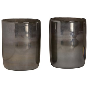 Dovetail Furniture Ceramic and Glass Accessories Glass Vase