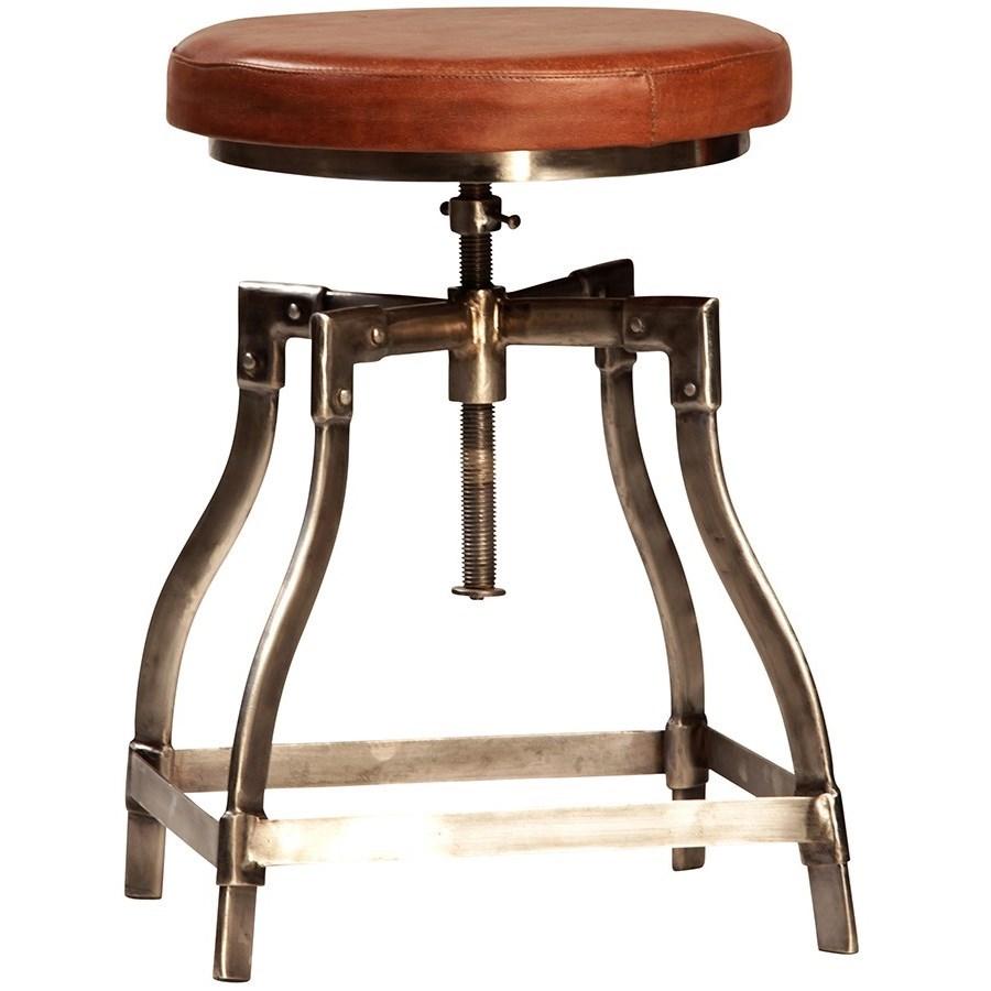 Dovetail Furniture Dining Industrial Foley Adjustable