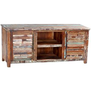 Dovetail Furniture Nantucket 2-Door Plasma TV Console