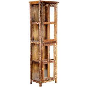 Dovetail Furniture Nantucket 8 Glass Door Cabinet