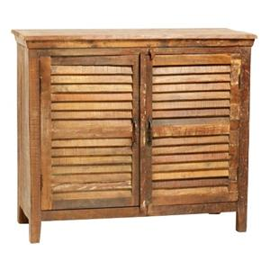 Dovetail Furniture Nantucket Louvered Sideboard