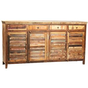 Dovetail Furniture Nantucket Nantucket Louvered Sideboard