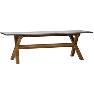 Dovetail Furniture Hammer Hammer Dining Table