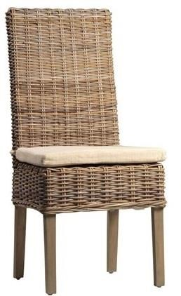 Kubu Dining Side Chair by Dovetail Furniture at C. S. Wo & Sons Hawaii