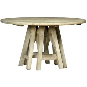 "Dovetail Furniture Madison 54"" Round Table"