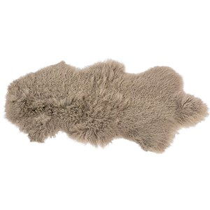 Dovetail Furniture Mohair Mohair Light Grey Rug