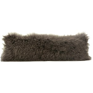 Dovetail Furniture Mohair Mohair Grey Pillow