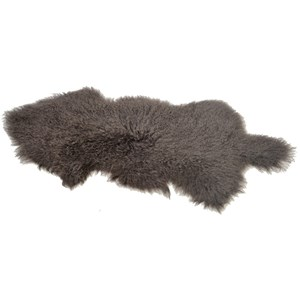 Dovetail Furniture Mohair Mohair Grey Rug