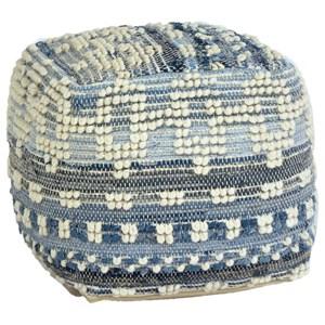 Dovetail Furniture Pillows & Poufs Inyo Pouf
