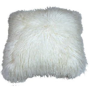 Dovetail Furniture Pillows & Poufs Fur Pillow