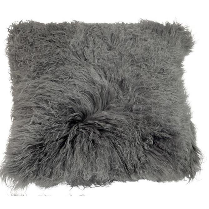 Fur Pillow Grey