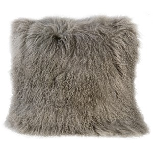 Dovetail Furniture Pillows & Poufs Mongolian Cushion