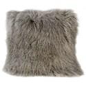 Dovetail Furniture Pillows & Poufs Mongolian Cushion - Item Number: DOV3379
