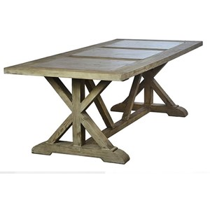 Dovetail Furniture Soloman Soloman Dining Table