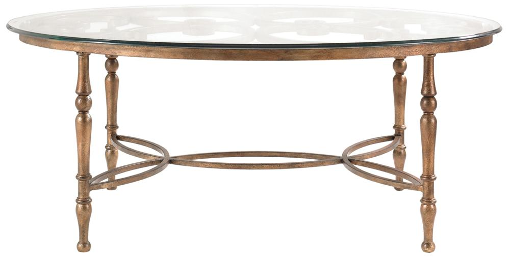 Drexel Heritage® At Home in Belle Maison The Scrolls Table - Item Number: 311-800