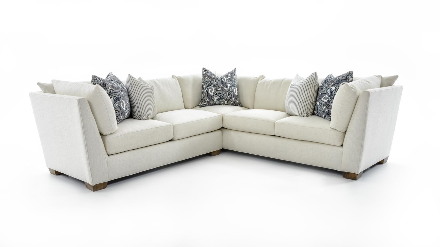 Drexel Heritage® Burton 2 Pc Corner Sectional Sofa - Item Number: D20193 Sect