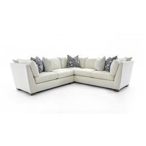 Drexel Heritage® Burton 2 Pc Corner Sectional Sofa