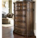 Drexel Heritage® Casa Vita Romano Drawer Chest w/ 8 Drawers - Shown in bedroom
