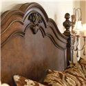 Drexel Heritage® Casa Vita Queen Esposito Bed  - Detail of headboard