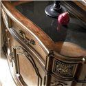 Drexel Heritage® Casa Vita Bianchi Buffet w/ Black Granite Top - Top view of Bianchi Buffet