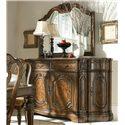 Drexel Heritage® Casa Vita Bianchi Buffet w/ Black Granite Top - Shown with Bianchi Buffet